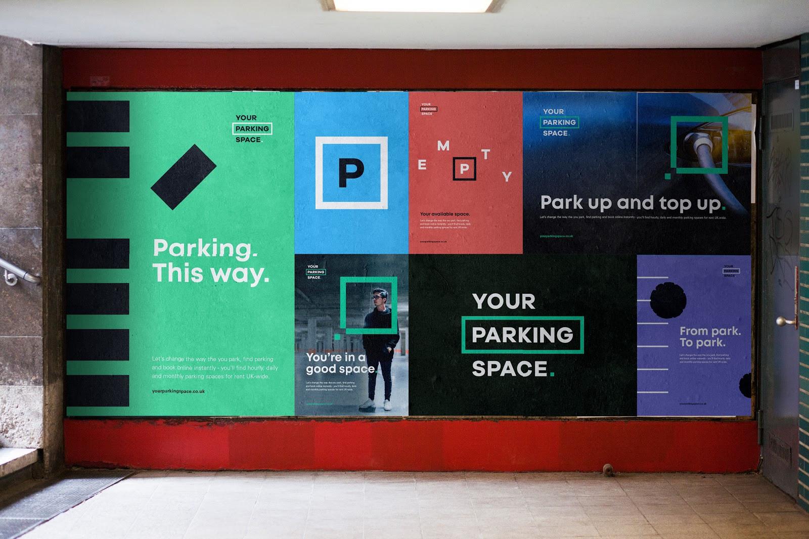 YourParkingSpace - Poster Mocks