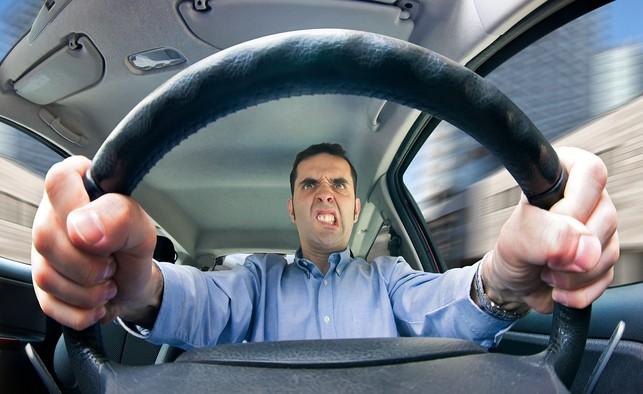stress behind the wheel