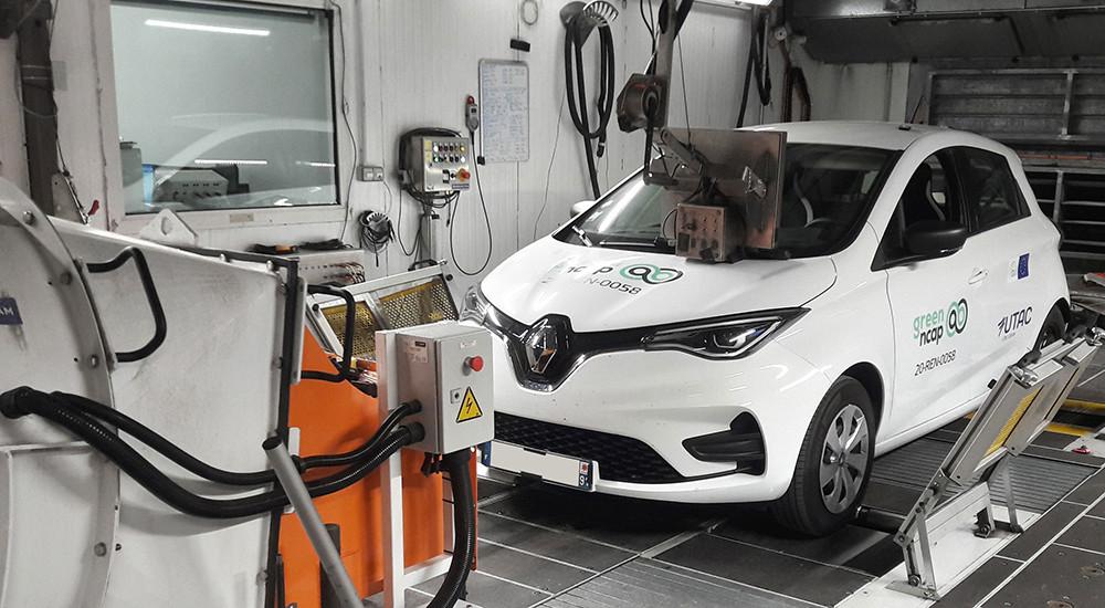 GreenNCAP-RenaultZoe