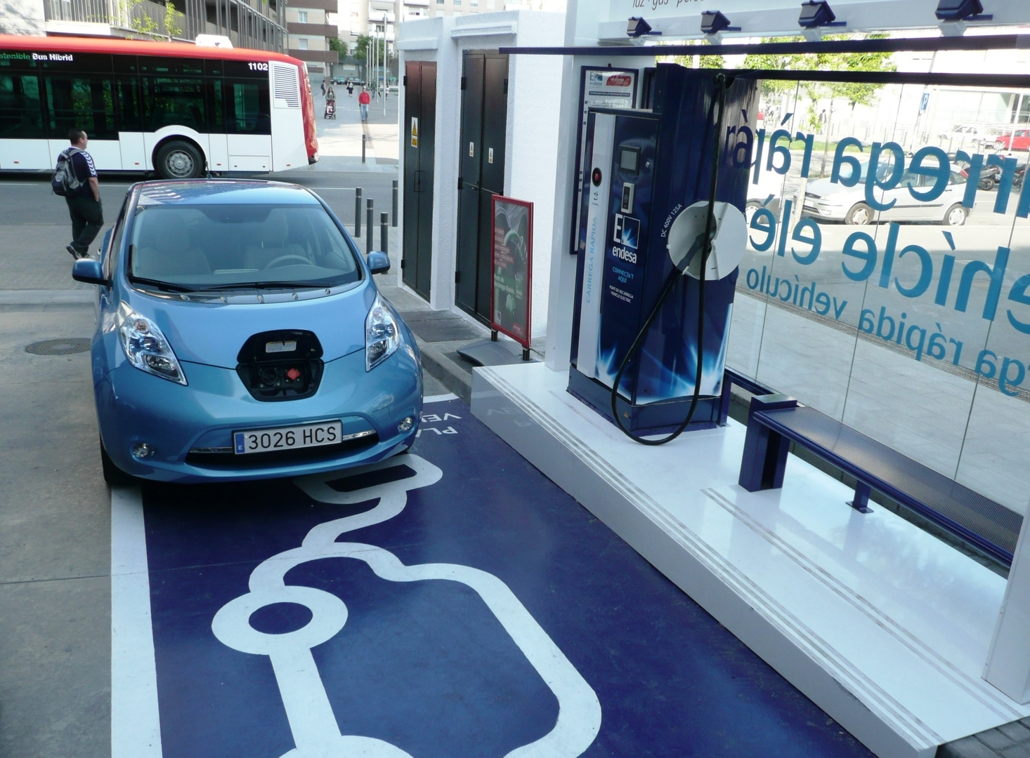 Nissan Charging Point