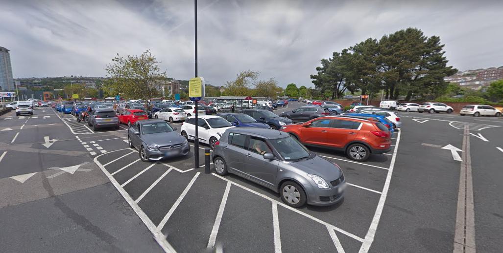 Parking On Sainsbury S Swansea Sa1 Swansea