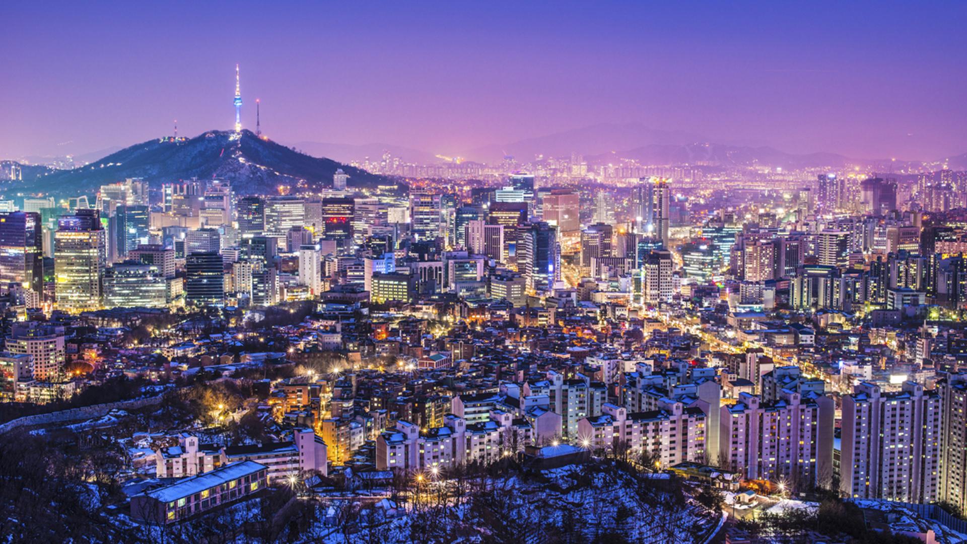 korea seoul cityview